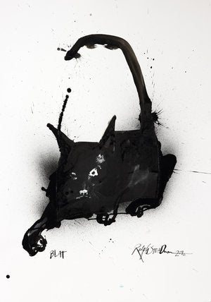Ralph Steadman Signed Book of Cats Print 5