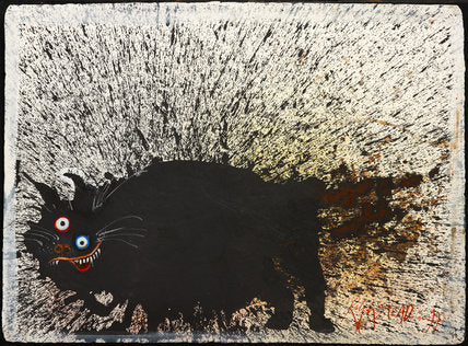 Ralph Steadman Signed Book of Cats Print 4