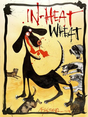 Ralph Steadman Flying Dog In Heat Wheat Signed Print