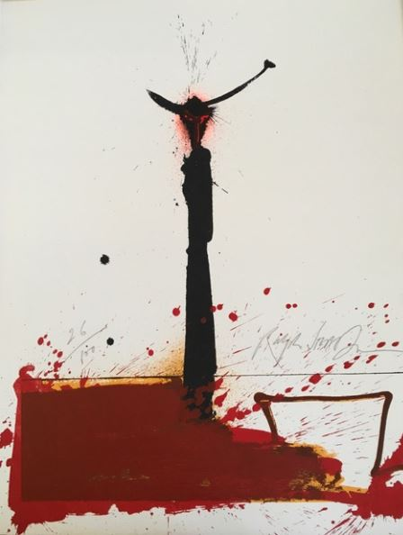 Ralph Steadman Signed Plague and the Moonflower Limited Edition Print XX/100 LARGE 25