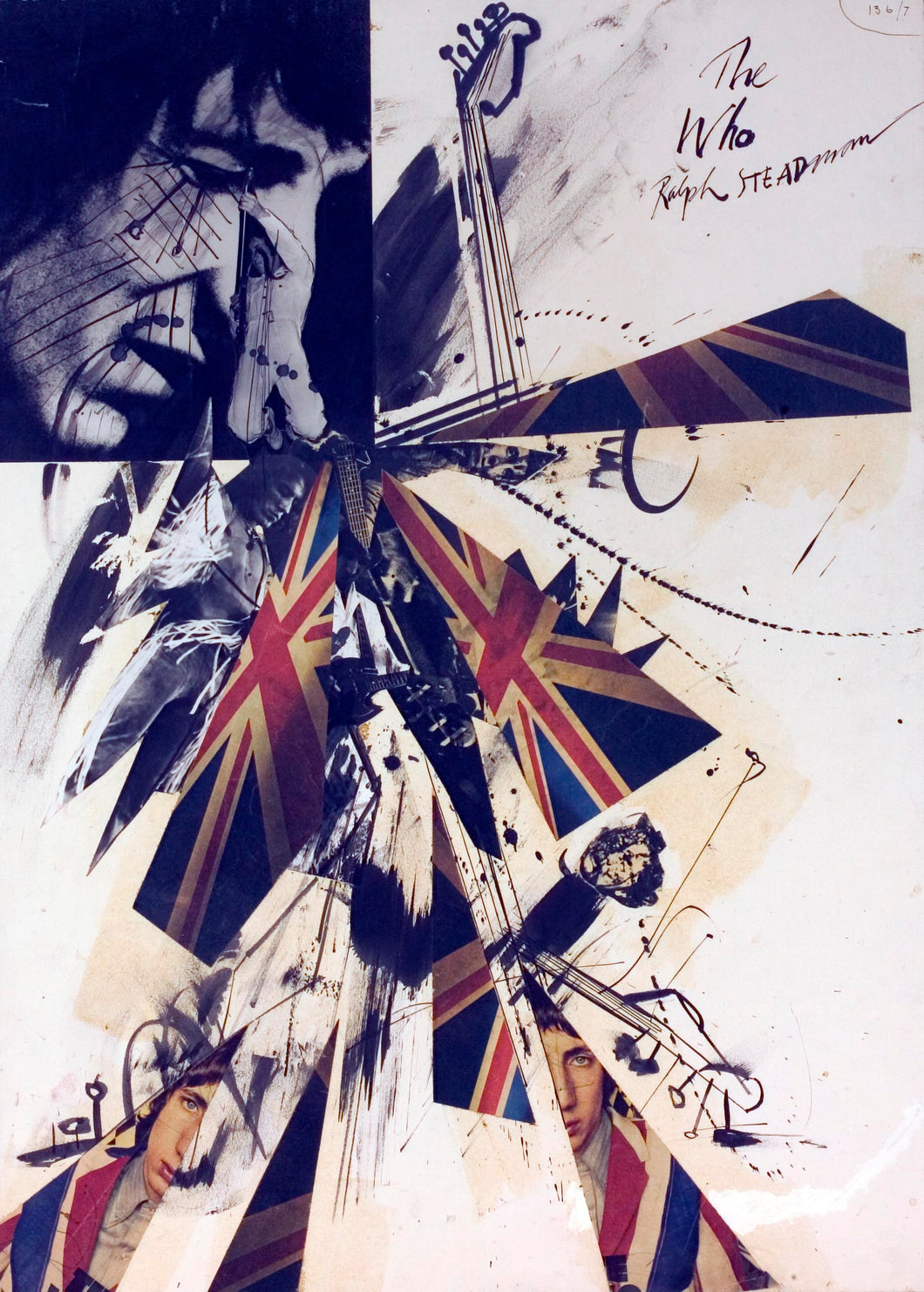 The Who Ralph Steadman Signed Print