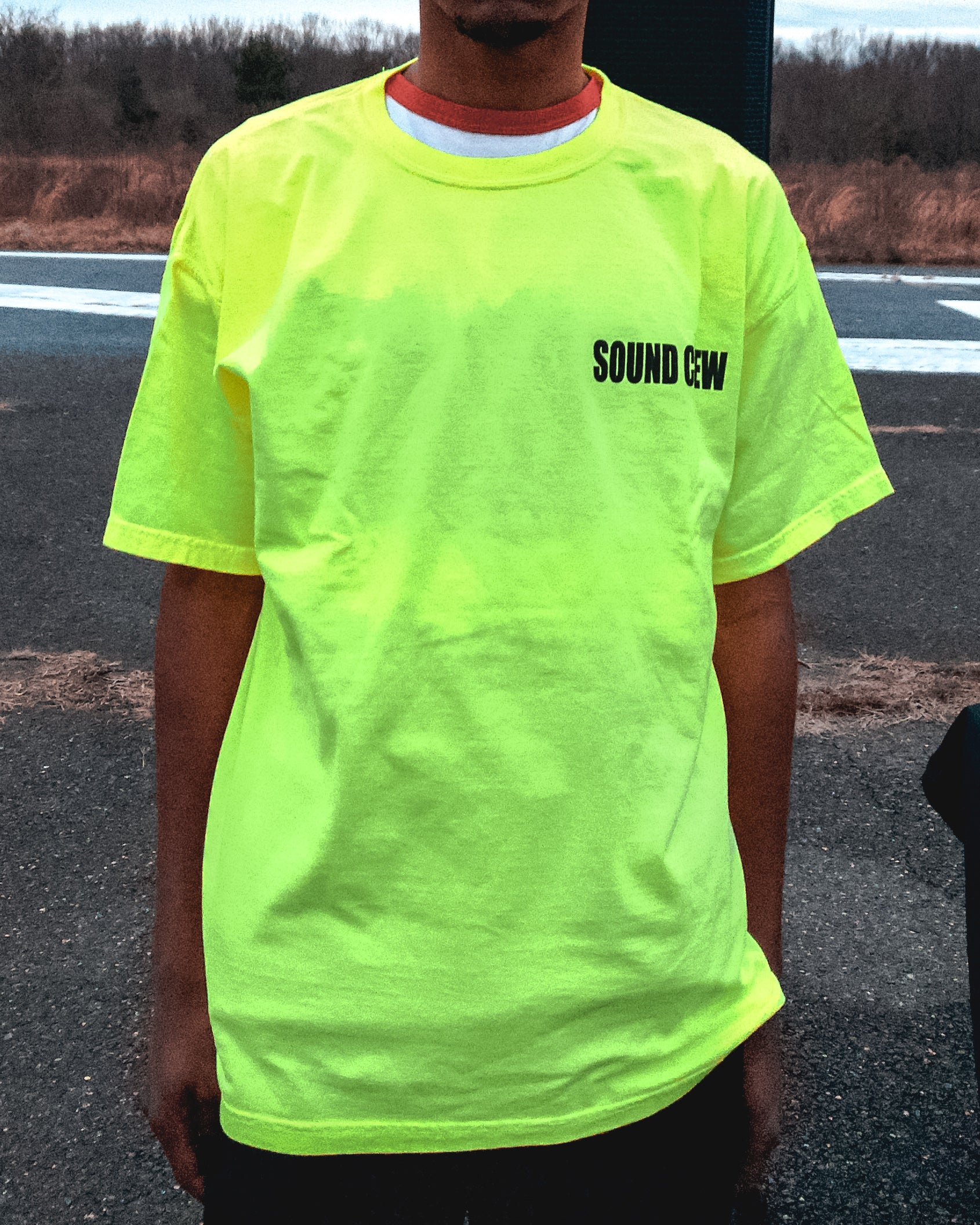 'Sound Crew' Short Sleeved Tee