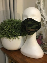 Men's Teens/ Ladies & Childs Sizes Cotton  Face Mask Navy Blue,Khaki Green, Black  or Camouflage- Non Surgical