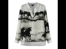 Black Horse Ink Printed Shirt