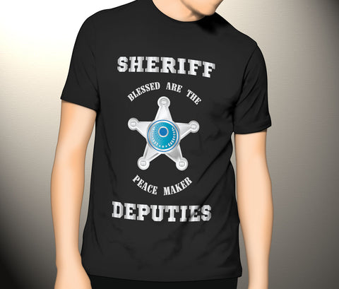 Sheriff Deputies Blessed Are The Peace Maker