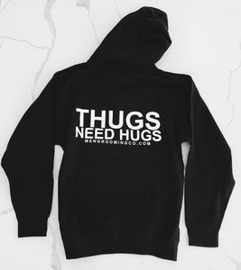 THUGS NEED HUGS HOODIE - MEN GROOMING CO.