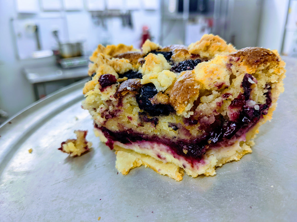 Berry Bakewell Pie