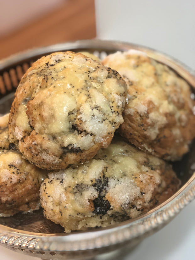 Poppy Passion Fruit Scone