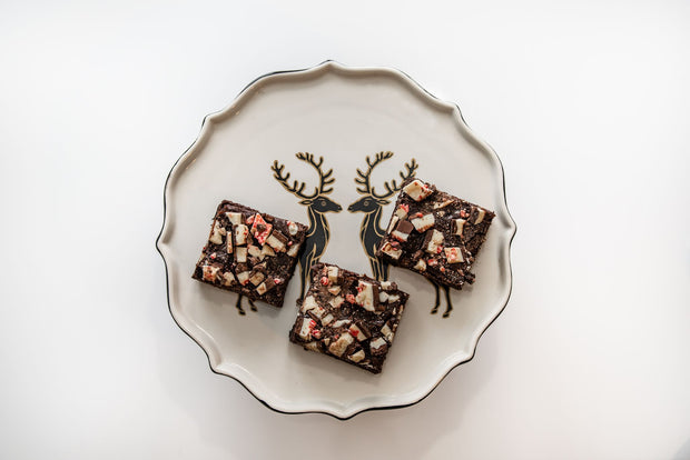 Reindeer Bark Brownie