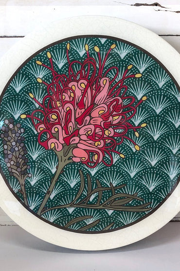 LOST & FOUND ROUNDY WOODBLOCK - GREVILLEA