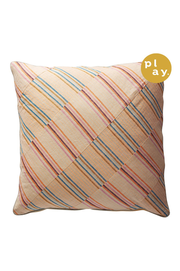 SAGE x CLARE ANDRE STRIPE CUSHION