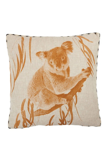 BONNIE & NEIL KOALA WHEAT 50cm x 50cm CUSHION