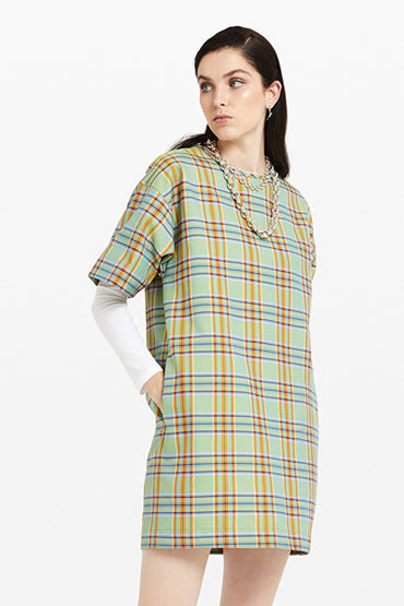 ottodame-DC4288-green-plaid-dress