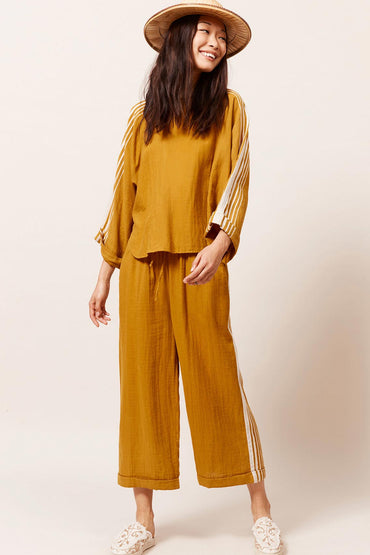 MES DEMOISELLES ADIDANEY OCRE PANT