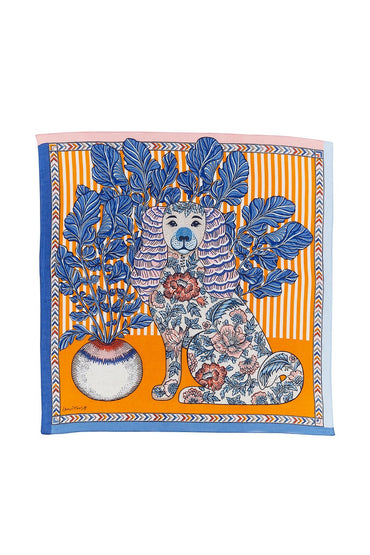 INOUITOOSH THELMA BANDANA SCARF - ORANGE
