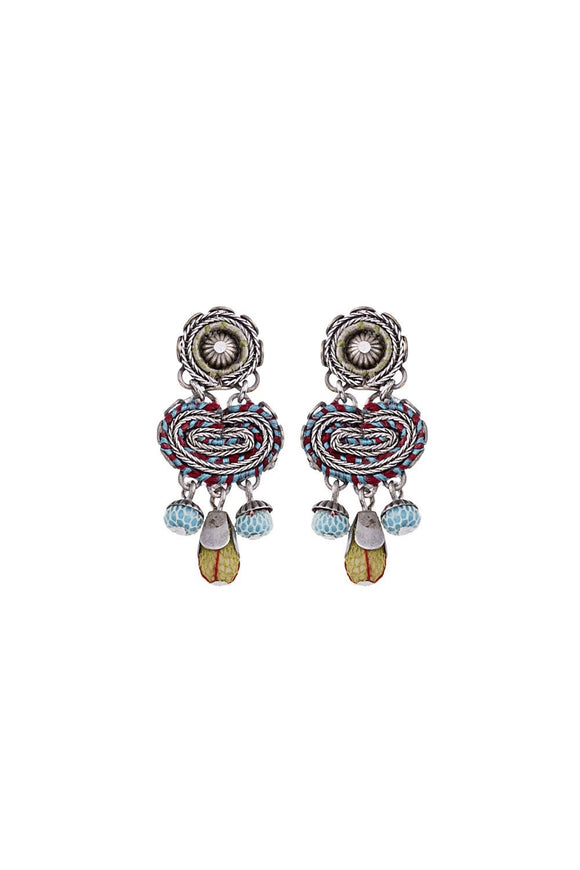 AYALA BAR CLOUD NINE, BELINDO EARRING SILVER