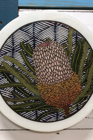 LOST & FOUND ROUNDY WOODBLOCK- BANKSIA HOOKERIANA