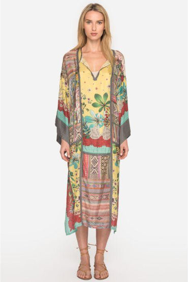 JOHNNY WAS - BOTANICA STAN KIMONO  DRESS