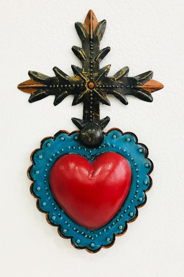 MEXICAN FOLK ART HEART OF MEXICO