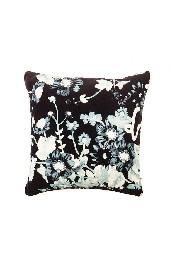 BONNIE AND NEIL ANOMI BLACK VELVET CUSHION 60cm