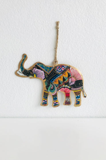 RUBY STAR TRADERS PSYCHEDELIC ELEPHANT DECORATION