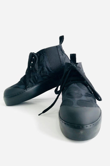 RUNDHOLZ BLACK LABEL BLACK SPOT DESIGNER SHOE