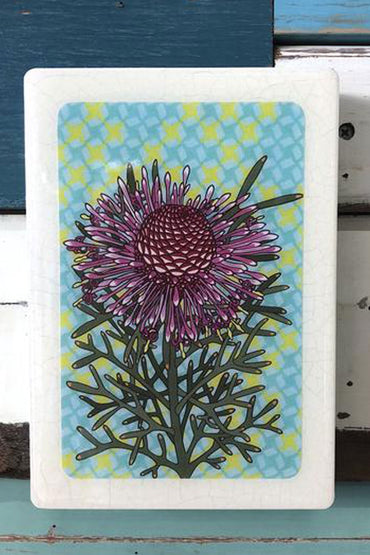 LOST & FOUND ART CO MEDI WOODBLOCK ROSE CONEFLOWER