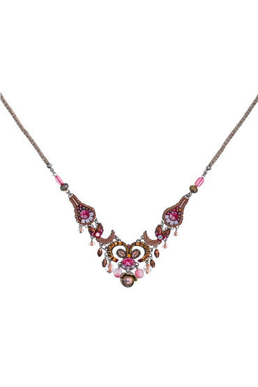 AYALA BAR SECRET CAVE AMELIA NECKLACE ROSE/BRONZE