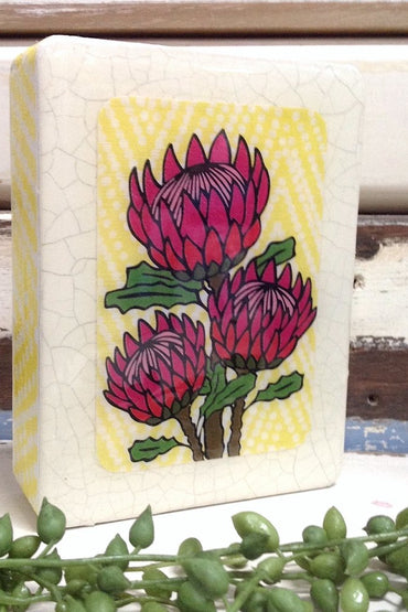 LOST & FOUND MINI PROTEA BLOOM 12X9CM