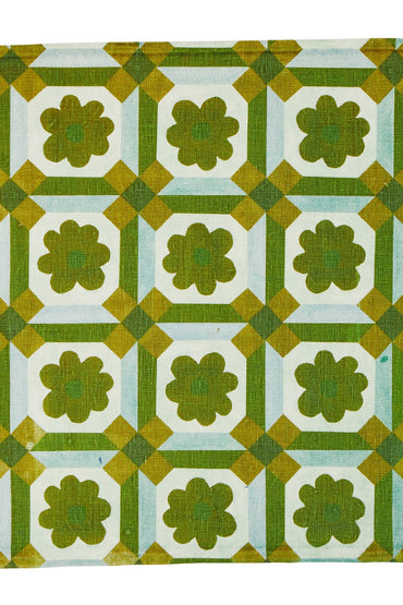 BONNIE & NEIL NAPKINS ASTER GREEN (SET OF 6)