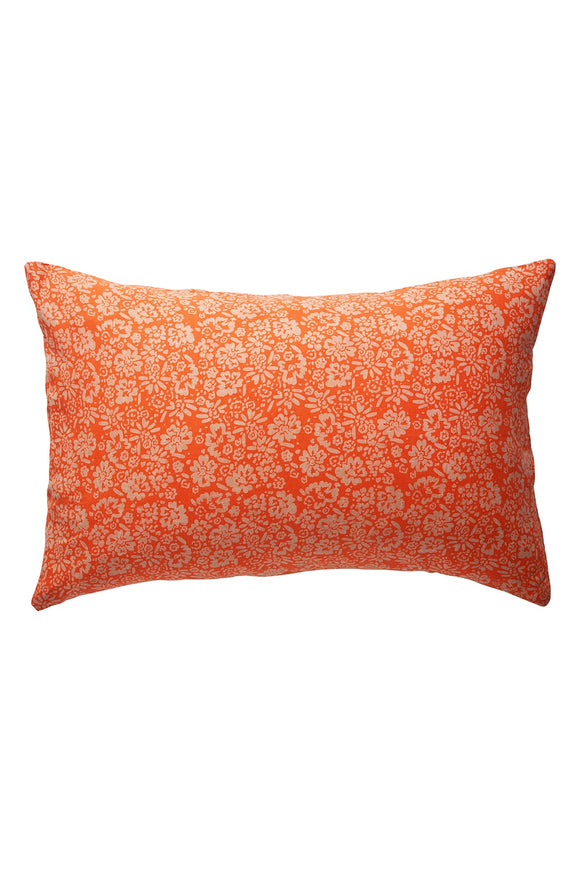 SAGE x CLARE OHANA LINEN PILLOWCASE SET TANGERINE
