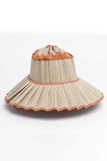 LORNA MURRAY COCONUT GROVE CAPRI HAT CARAMEL