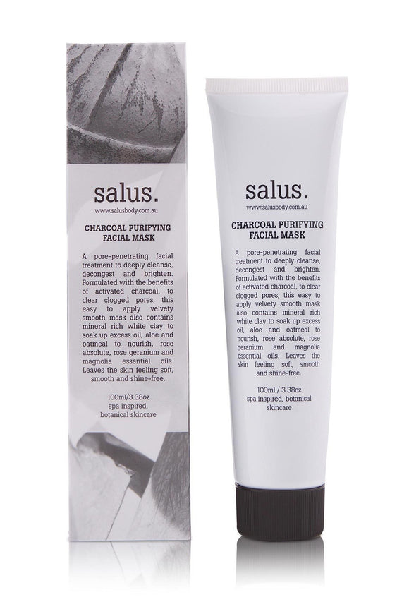 SALUS CHARCOAL PURIFYING FACIAL MASK 100ml