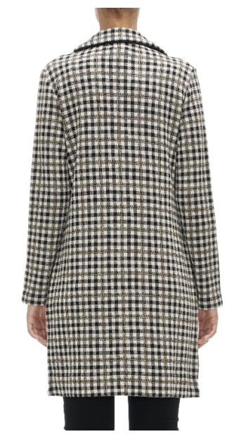 Sabatini English Knit Tweed Coat