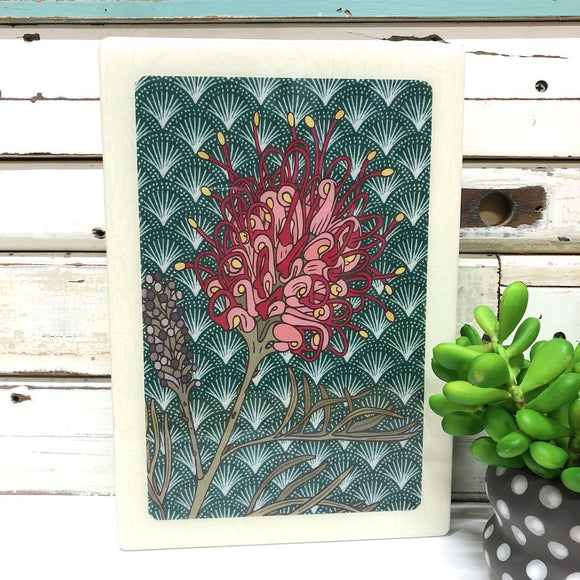 LOST AND FOUND ART CO MAXI WOODBLOCK GREVILLEA