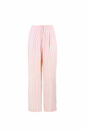 COOP JOY WIDE PANT PINK STRIPE