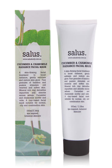 SALUS Cucumber & Chamomile Radiance Facial Mask 100ml
