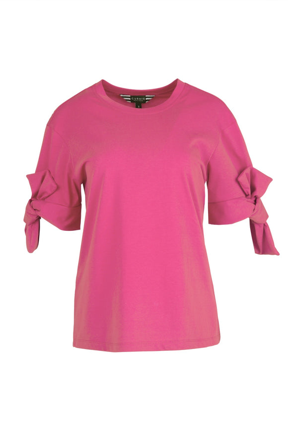 CURATE LOW KEY TEE TOP PINK