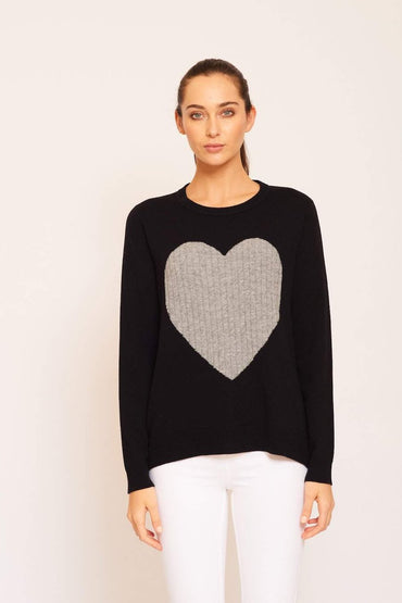 ALESSANDRA- TOTAL ECLIPSE OF THE HEART SWEATER