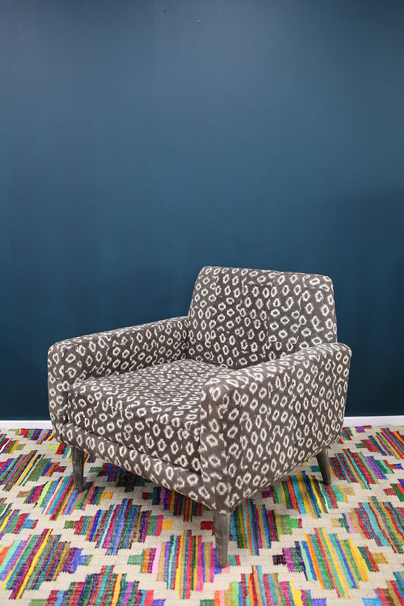 RUBY STAR TRADERS TRIBAL MUDCLOTH ARMCHAIR