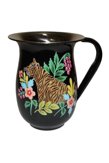 RUBY STAR TRADER HUNTING TIGER JUG BLACK