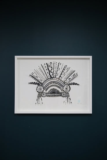 MERCI PERCI SPIKEHEAD PIECE ARTWORK