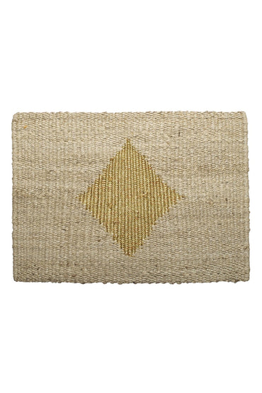LANGDON DIAMOND DOORMAT GOLD