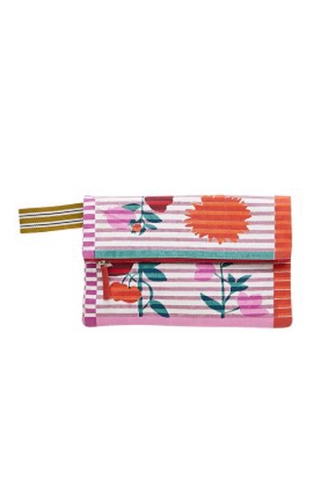 INOUITOOSH AOT FOLDED CLUTCH PINK