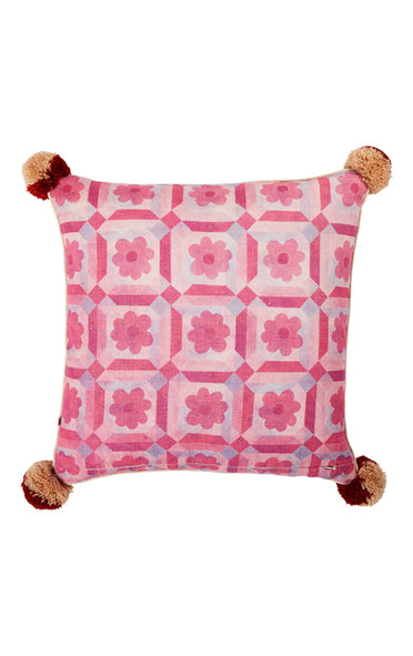BONNIE & NEIL C2105 ASTER ORANGE 50x50cm CUSHION