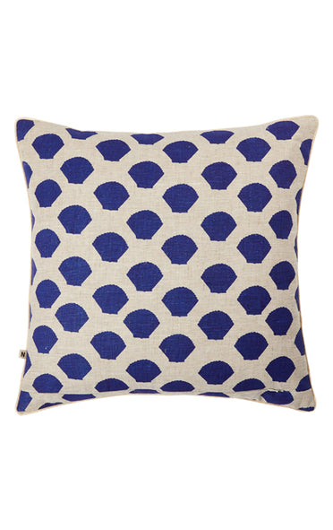 BONNIE & NEIL C2107 TINY SHELLS BLUE 50x50cm CUSHION