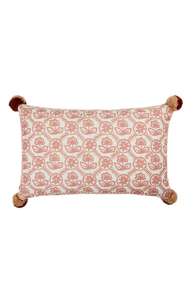 BONNIE & NEIL FC219 PRIMULA CLAY 75x45cm CUSHION