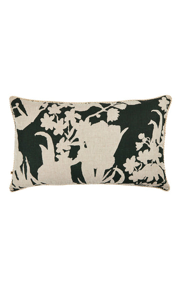 BONNIE & NEIL FC220 IRIS GREEN 75x45cm CUSHION