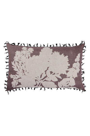 BONNIE AND NEIL FOXGLOVE CUSHION MUSK 75 X 45CM