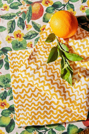 BONNIE & NEIL ORANGES TABLECLOTH MULTI